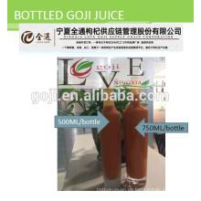 Bio-Goji-Saft - 2016 Ernte Bio-Zertifikat