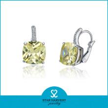 Whosale Diamond Earring Preço de fábrica
