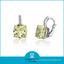 2014 Fashion 925 Sterling Silver Stone Earrings (SH-E0049)