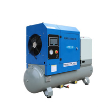 7hp Rotary Screw Air Compressor with Air Tank Dryer Air Compressor