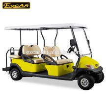 Excar A1S4 + 2 carrinhos de golfe elétrico carrinho de golfe barato para venda de golfe de buggy elétrico