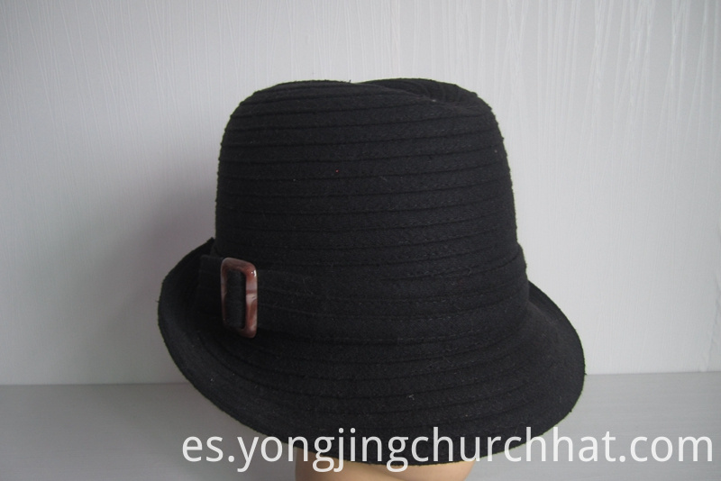 Wool Fabric Church Hats