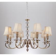 Железный люстра освещения, прозрачный кристалл, Чжуншань поставщиков из Китая (SL2076-8)