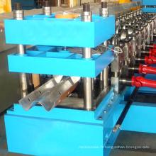 rouleau hydraulique de plaque de barre de garde d'autoroute formant la machine