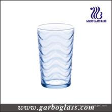 Blue Wavy Glass Cup (GB02B6808B)