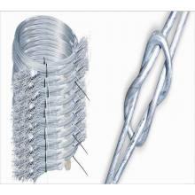 Alambre de embalaje de algodón de enlace rápido, alambre de embalaje de algodón de doble lazo