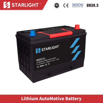 Batterie de voiture 12V 95D31L LiFePO4 (type standard)
