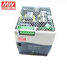 MEAN WELL 75w a 960watt tipo delgado UL CE TUV GL 48VDC 20amp fuente de alimentación de carril DIN SDR-960-48