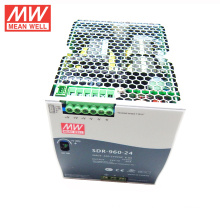 MEAN WELL 75w to 960watt slim type UL CE TUV GL 48VDC 20amp din rail power supply SDR-960-48