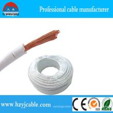 Kupfer-Kern-PVC-isoliertes, nicht ummanteltes elektrisches Kabel-Stromkabel