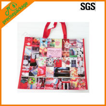 China hot sale Top quality new laminated shopping bag with nylon handles