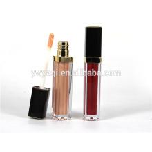 Recipiente de lustro de lábio na moda preço barato OEM com marca de seda-impressão do cliente