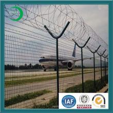 Galvanized Razor Blade Wire Airport Fence
