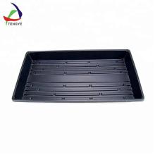 Plateau noir thermoformé en matériau épais de haute qualité