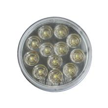 """LED 4 """"rodada de alta potência levou luz reversa automática para caminhão e reboque"""