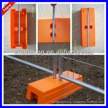 temporary fence concerete base