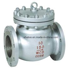 150lb 300lb 600lb Обратный клапан обратного клапана с фланцем из литого стального фланца