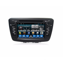Qcat core !! Andriod 6.0 7.1 car Gps navigation for Suzuki Baleno with BT Radio
