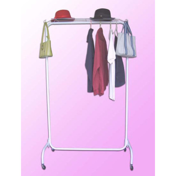 Hanger Moving Powder Coated Drying Rack