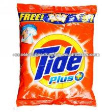 Sacos plásticos para embalagem de detergente para a roupa
