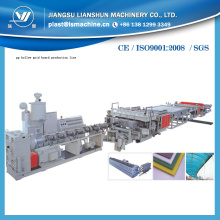 PE Hollow Grid Board Extruder Production Line