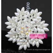 Luxus Perle Massenrhinestone Broschen