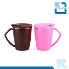 Tasse à café en acier inoxydable coréenne 304 avec couvercle PP