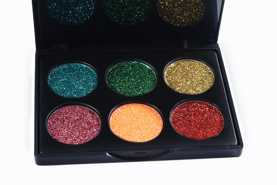 6 Colors beauty Gligger Eye Shadow 12