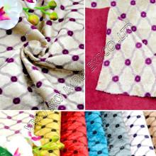 100% Polyester-Fleece-Jacquard-Einrichtungsstoff
