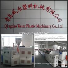 Máquina de perfil línea WPC panel compuesto plástico de madera de WPC