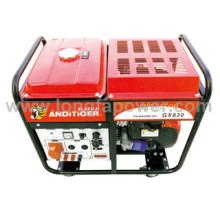10kVA 12.5kVA 15kVA Doppelzylinder Drei-Phasen-Benzin-Generatoren