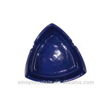 Triangular Ceramic Ashtray for BS140122C