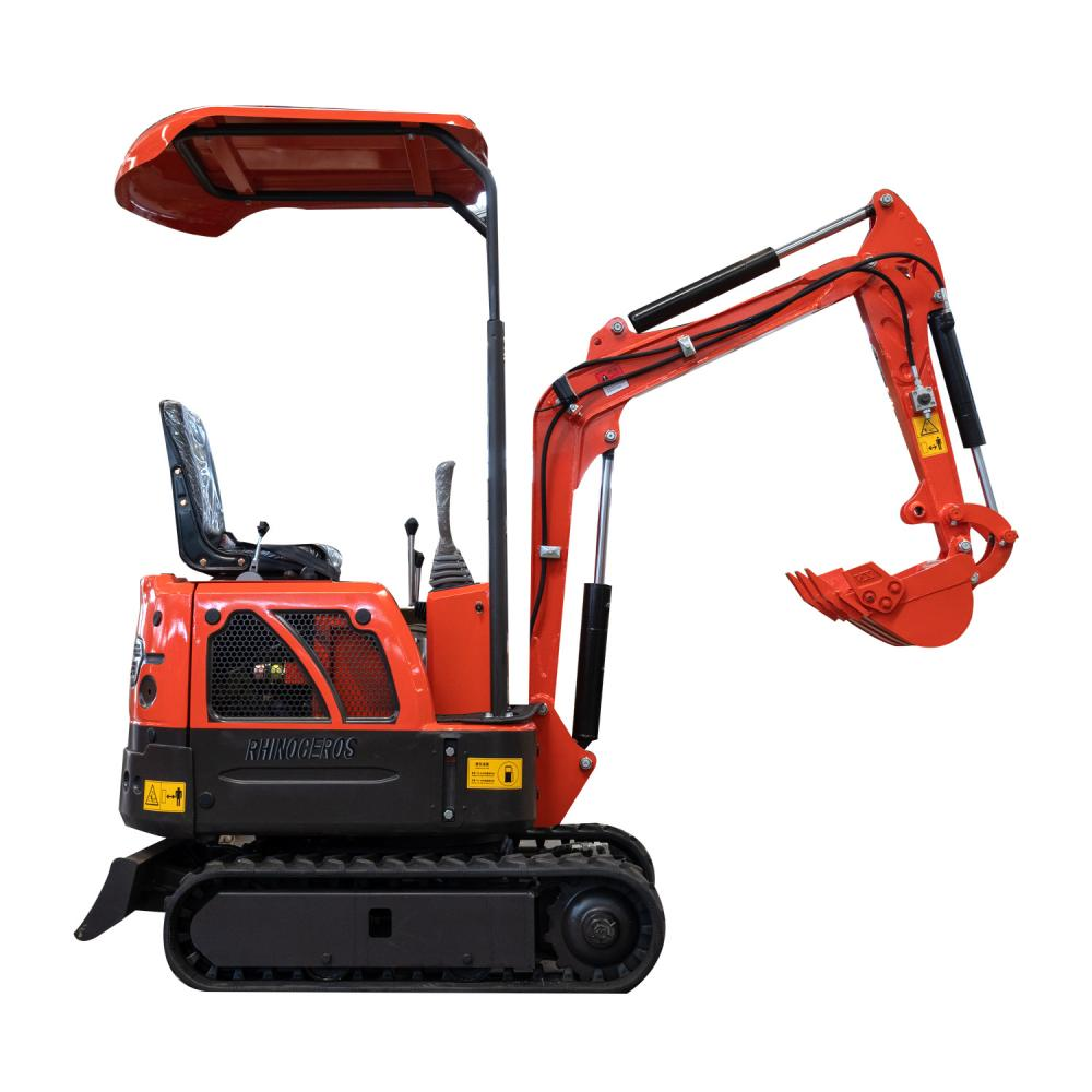 Mini Crawler Excavator 6