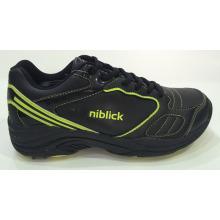 Модные ботинки гольфа шнурка, ботинки вскользь