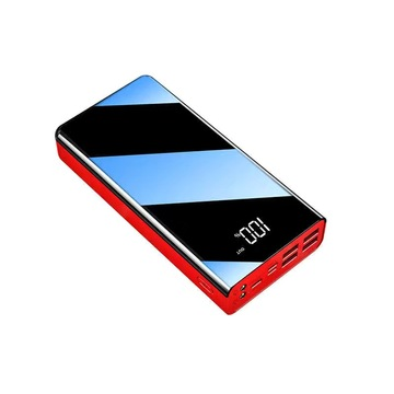 Power Bank portatile da 50000 mAh con luce LED