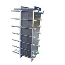 Intercambiador de calor de placa plana Hisaka Ux01 para la industria alimentaria