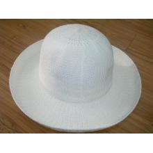 Chapeau de paille blanc à la mode