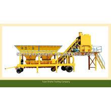 30m3 / h YHZS30 mini concreto portátil fábrica de mistura para venda