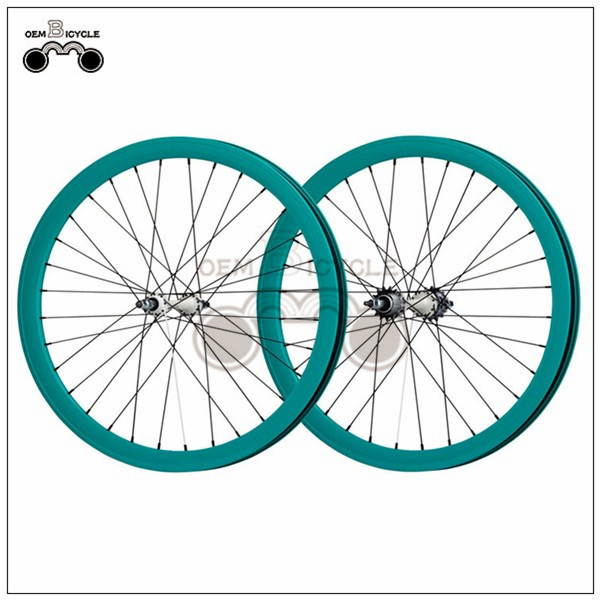 700C 40mm fix double-walled aluminum wheelset12