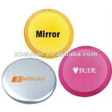 folding plastic cosmetic mirror for promotion