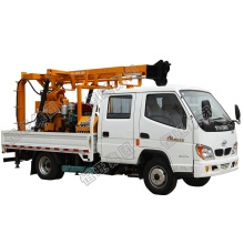 Farm well construction drilling rigs Well borer deep hole drilling rig machine with truck