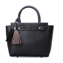2016 Latest PU Handbag and Tote Bag with Tassels