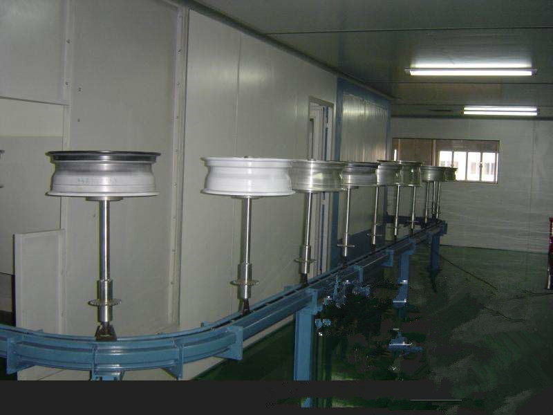 Automobile Wheel Coating Equipment