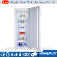 House hold single door frost free vertical freezer