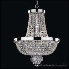 Candelabro incandescente industrial da iluminação da venda quente comercial barata de cristal
