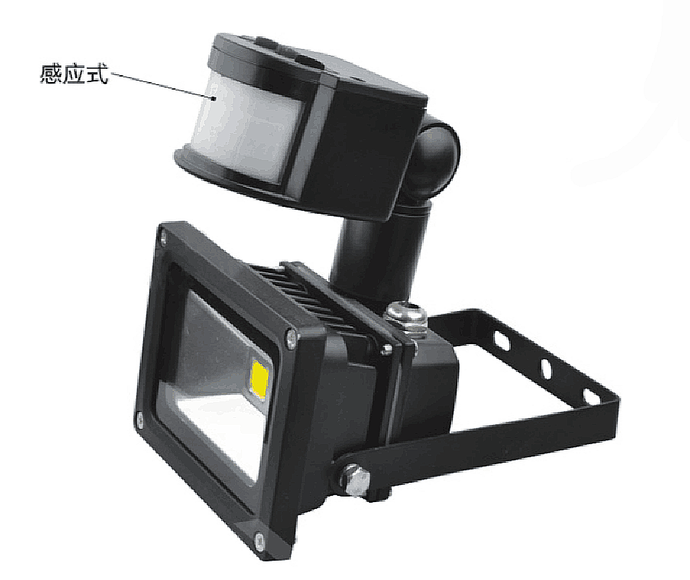 led flood light can be induced