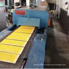 Powder metallurgy push rod sintering furnace