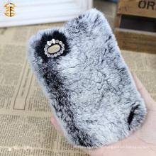 Neuer Ankunfts-Soem-kundenspezifischer Kaninchen-Pelz-Kasten für Handy-Fall