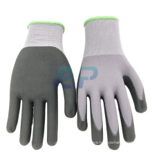 Super Touch  Glove ! 15G Nylon + Spandex Liner Nitrile Micro-Foam Coated Super Touch  Glove