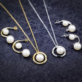 Fashion New Design Pearl Jewelry Set voor dames